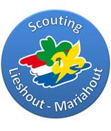 Logo van scouting Lieshout-Mariahout